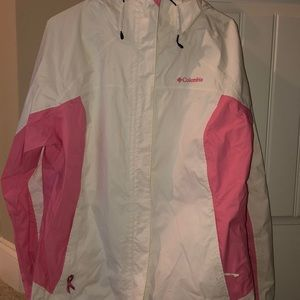 Columbia breast cancer raincoat